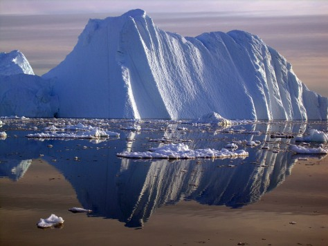 IMAGE: ICEBERG FROM GREENLAND COAST