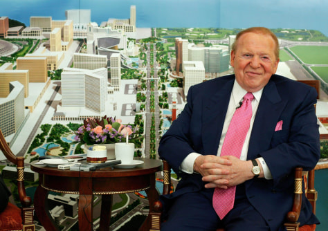 Image: Las Vegas Sands Chairman and CEO Sheldon Adelson