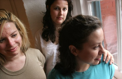 IMAGE: (Left to right) Jodi L. Sax, Suzanne Smith, Arlissa Gorosave