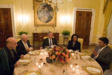 Image: White House dinner