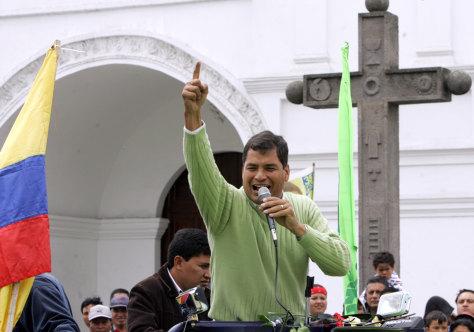 Image: Rafael Correa