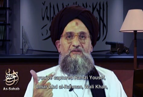 IMAGE: AL-QAIDA DEPUTY LEADER IN VIDEO