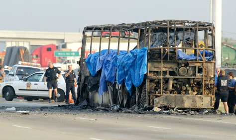 IMAGE: DESTROYED BUS