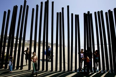 IMAGE: Fence along U.S. border