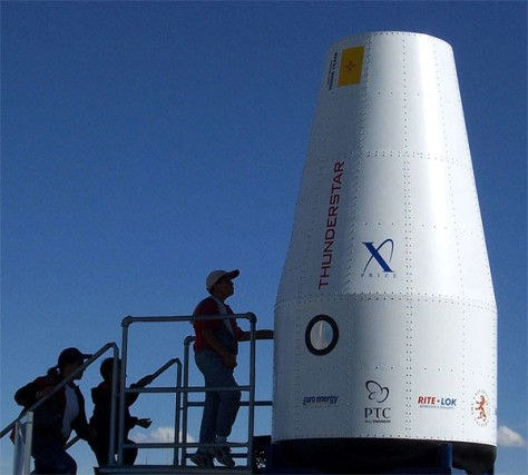 Image: Thunderstar passenger-carrying capsule