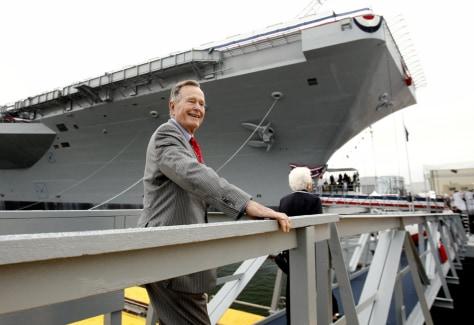 Image: Former President Bush