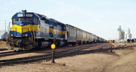 IMAGE: TRAIN IN SOUTH DAKOTA