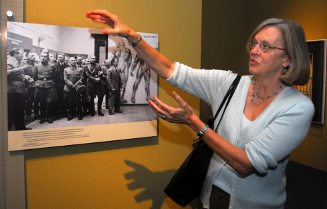 Image: Curator at Holocaust Museum.