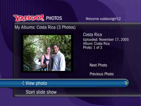 Image: TiVo Yahoo