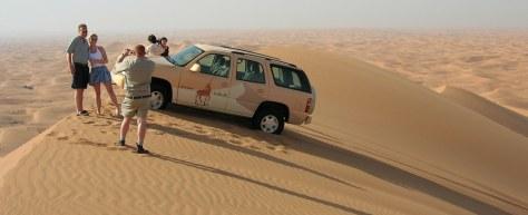 Image: 'dune bashing'