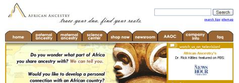 Image: Africanancestry.com