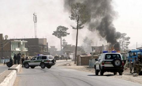 IMAGE: Afghan suicide blast