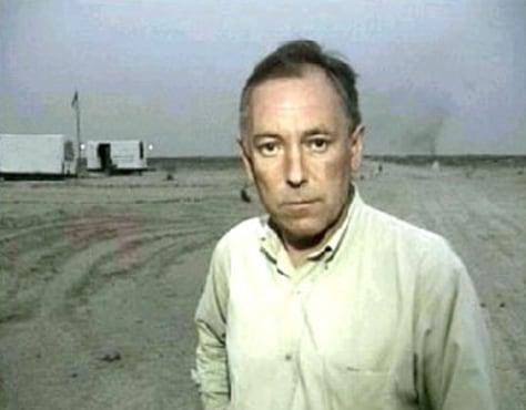 IMAGE: LAate British journalist Terry Lloyd