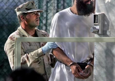 Image: Guantanamo detainee