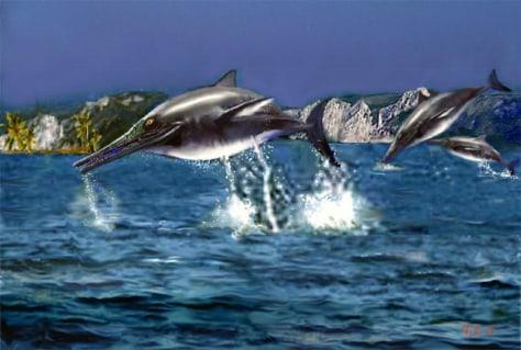 Image: Ichthyosaurs