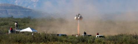 Image: Rocket blastoff