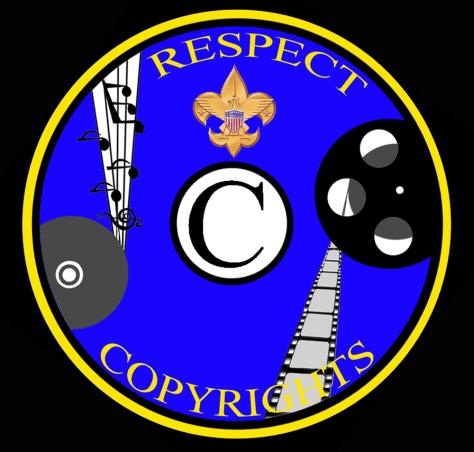 Image: Anti-piracy merit badge