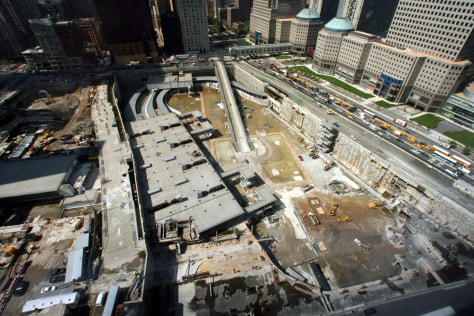 IMAGE: WORLD TRADE CENTER SITE