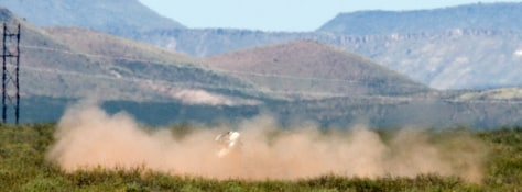 Image: Lunar lander prototype launch