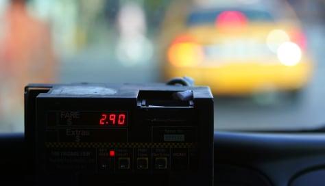 Image: Taxi fare