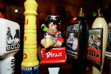 Image: Beer taps