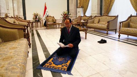 Image: Iraqi Prime Minister al-Maliki