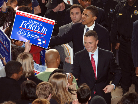 HAROLD FORD, JR. BARACK OBAMA