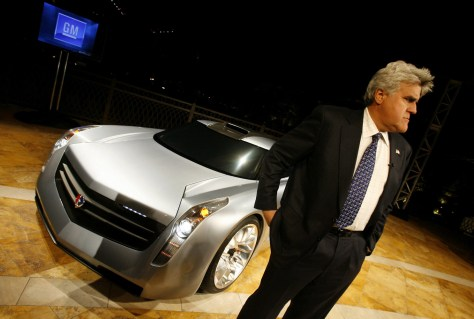 Jay Leno and EcoJet concept car