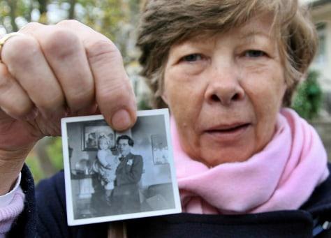 Image: Former Lebensborn child Violetta Wallenborn