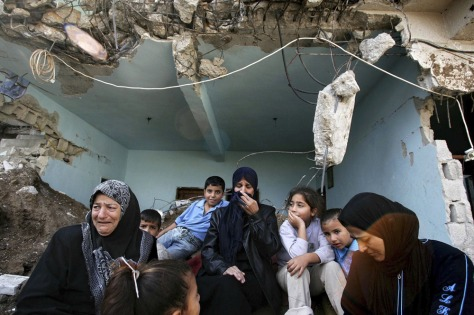 Image: Destroyed Palestinian home