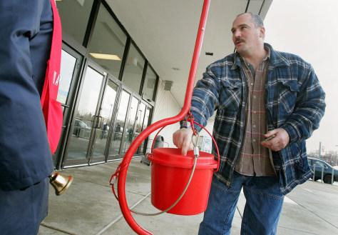 Image: Salvation Army Bell Ringers