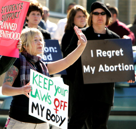 IMAGE: ABORTION PROTEST