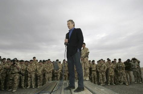 IMAGE: Prime Minister Tony Blair