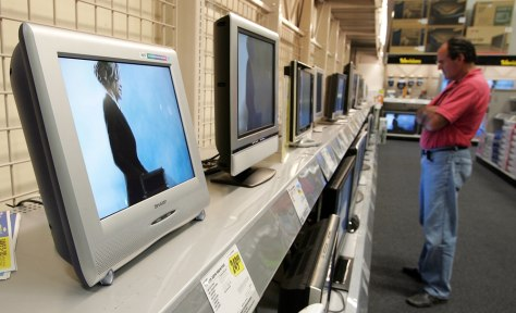 Image: LCD flat panel televisions