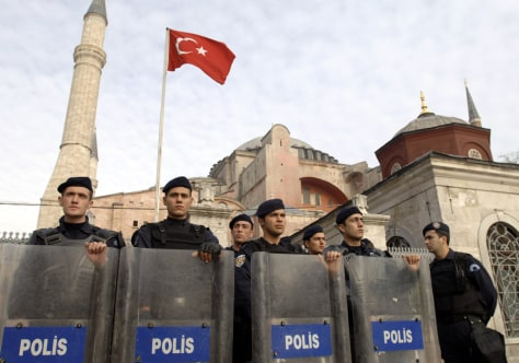 IMAGE: Turkish police