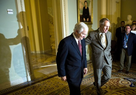 Robert Gates and Sen. Harry Reid