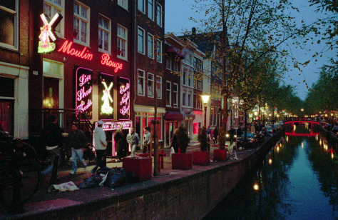 Image: Amsterdam's Red Light district