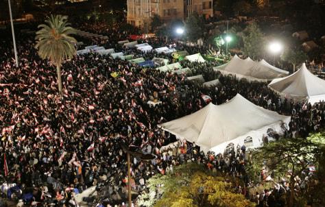Image: Beirut sit-in
