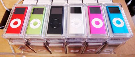 Image: iPod Nanos
