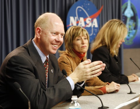 Image: NASA news briefing