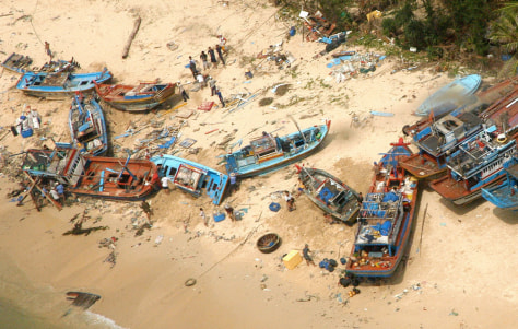 Image: Ravaged shore