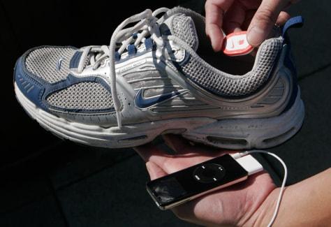 Image: Nike + iPod