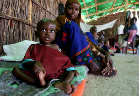 IMAGE: Somalia feeding center