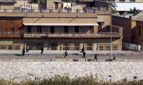Image: Baghdad gunfight