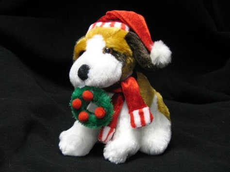 Stuffed Christmas Beagle
