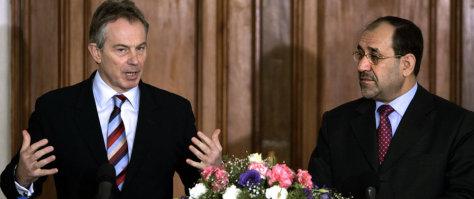 Image: Blair, al-Maliki