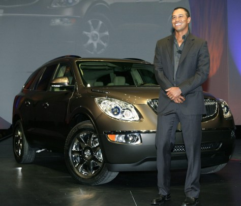 Tiger Woods, Buick Enclave