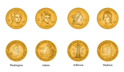 First Spouse Coin series