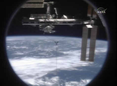 Image: Station as seen from shuttle