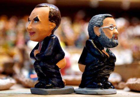 Caganer figurines